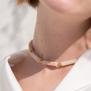 [VACANCE EVENT] MARBLE  CHOKER  2color